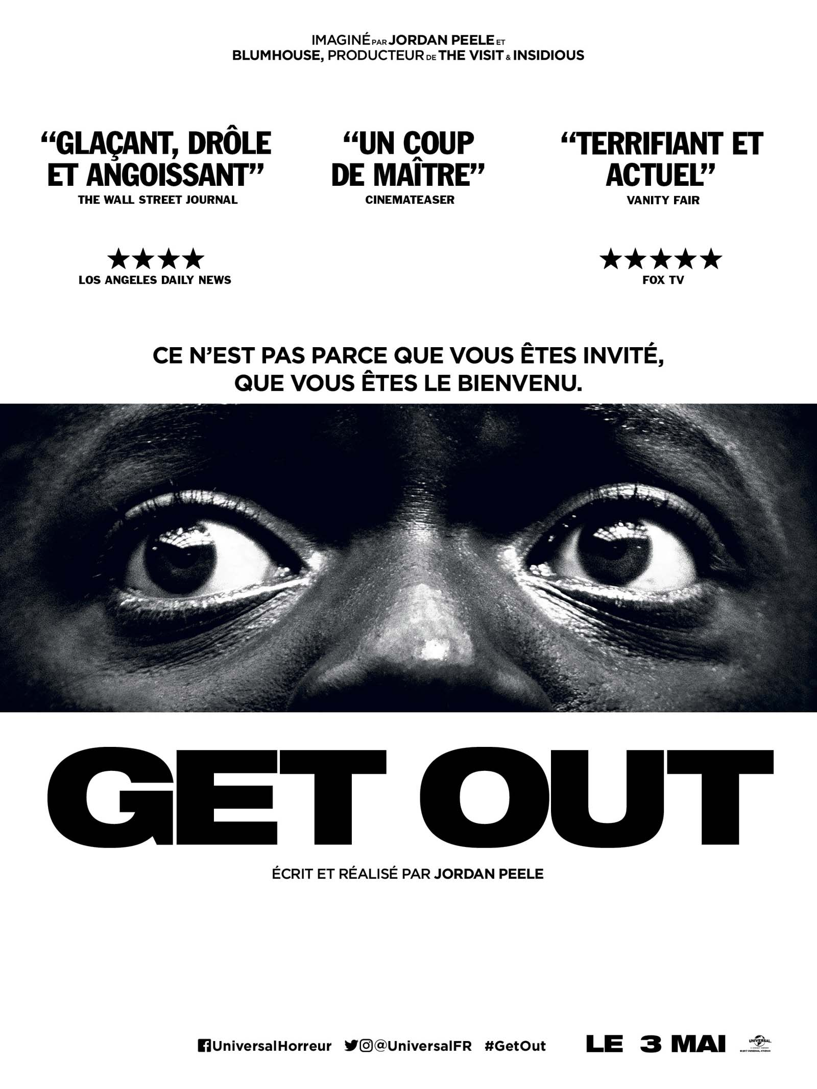 AFFICHE GET OUT