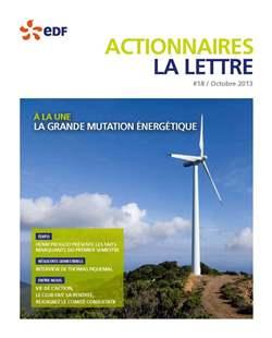 lettre aux actionnaires EDF