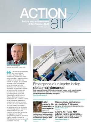 Lettre aux actionnaires de Juin 2011 Air France-KLM
