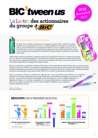 Lettre aux actionnaires de Decembre 2011 BIC