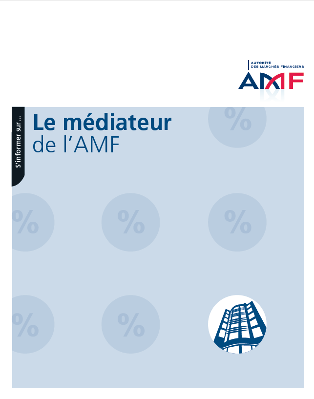 AMF Guide le médiateur de l'AMF