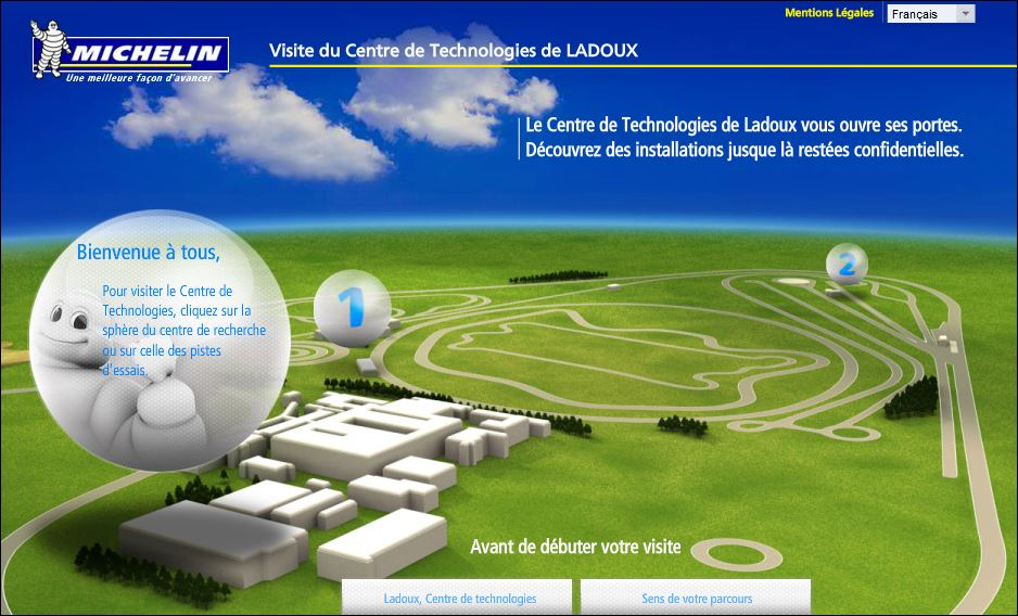 MICHELIN CENTRE DE LADOUX