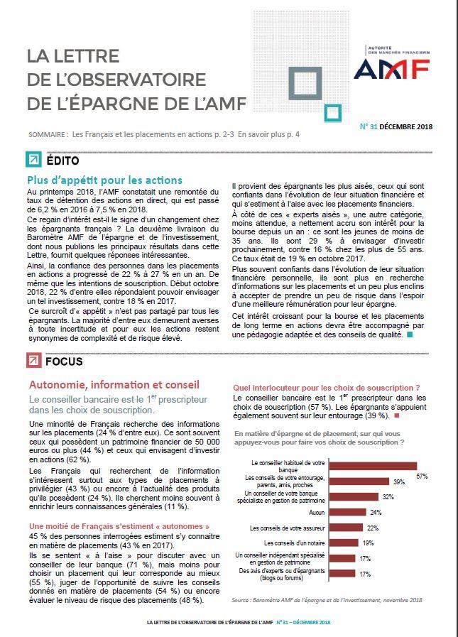 lettre AMF DEC2018