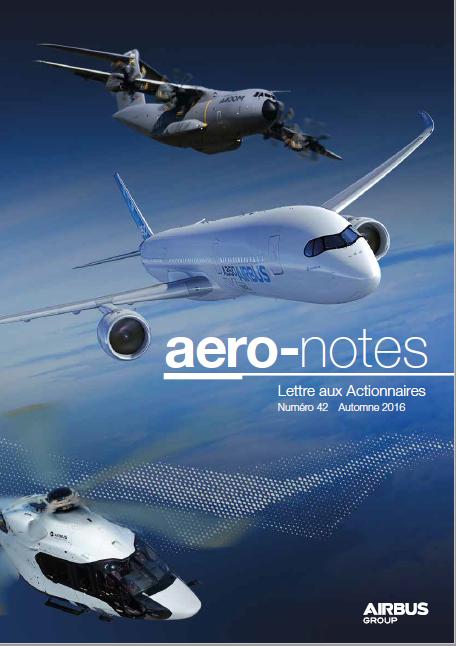 LETTRE AUX ACTIONNAIRES AIRBUS