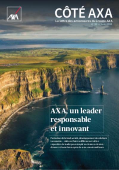lettre aux actionnaires AXA juin 2019