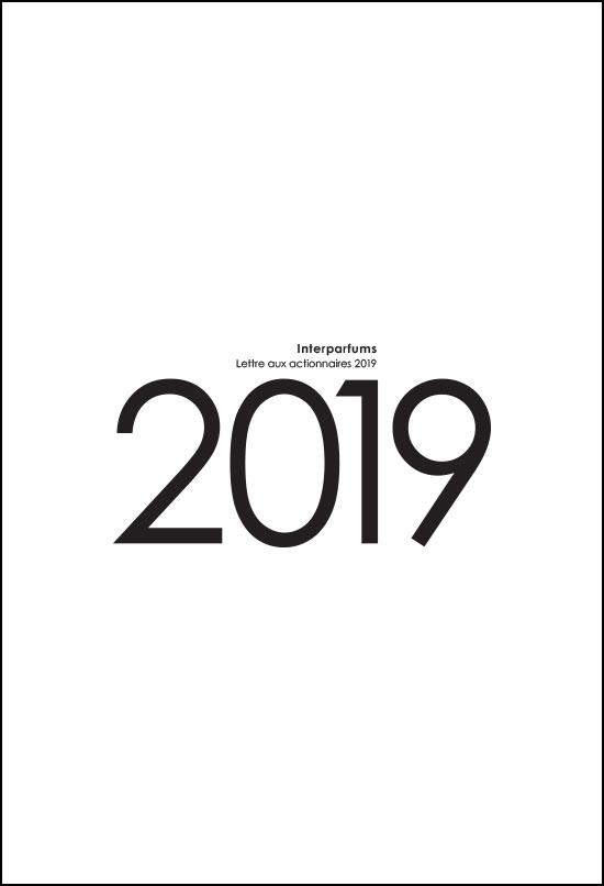 lettre INTERPARFUMS 2019